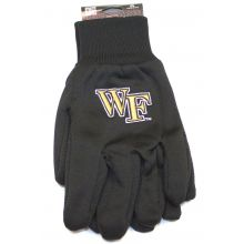 Wake Forest Demon Deacons Team Color Utility Gloves