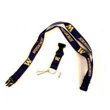 NCAA Washington Huskies Team Color Breakaway Lanyard Key Chain