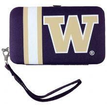 Washington Huskies Distressed Wallet Wristlet
