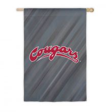 "Washington State Cougars Double Sided Sub Suede Flag 29"" X 43"""