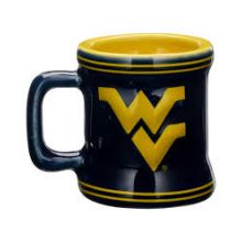 West Virginia Mountaineers Mini Mug 2 oz Shot Glass