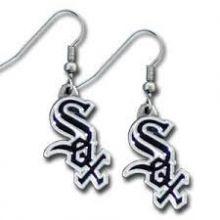 Chicago White Sox Logo Dangle Earrings
