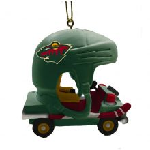 Minnesota Wild Field Car Ornament