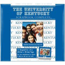 """Kentucky Wildcats 8"""" X 8"""" Complete Scrapbook Kit"""