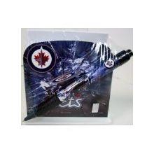 Winnipeg Jets Stationery Desk Caddy with Matching Ballpoint Grip Pen