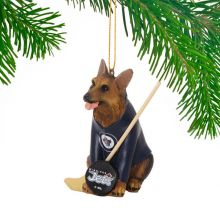 Winnipeg Jets Shepherd Team Dog Ornament
