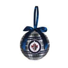 Winnipeg Jets 100 MM LED Ball Ornament
