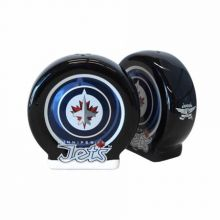 Winnipeg Jets Sculpted Ceramic Salt and Pepper Shakers
