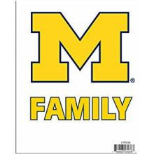 Michigan Wolverines Team Pride Decal