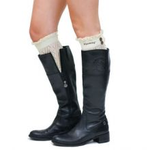 Wyoming Cowboys ZooZatz Women's Boot Cuff Leg Warmers